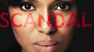 ABC's Scandal TV show Title.